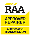 RAA Approved Repairer Auto Transmission
