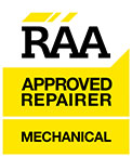 RAA Approved Repairer Mechanical