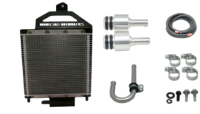 External Transmission Cooler 6 speed